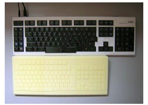 Optimus Popularis keyboard mock-up