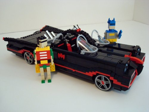 Awesome '66 Barris Lego Batmobile