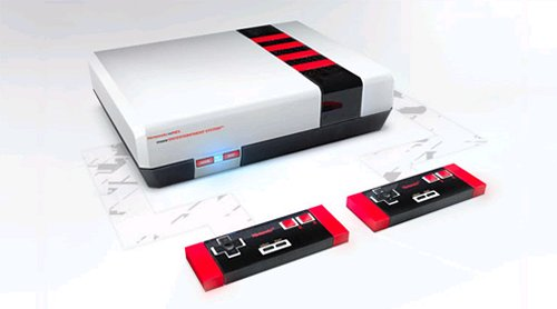 NES re-imagined is super hot