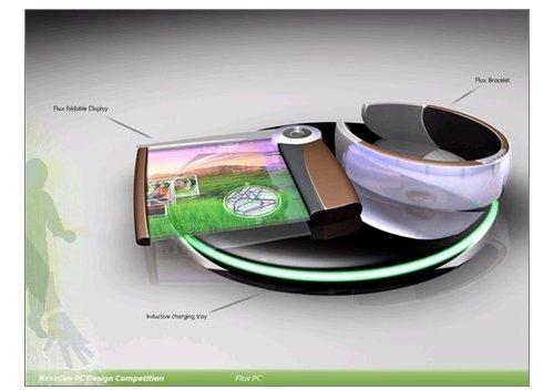 FluxPC portable computing concept
