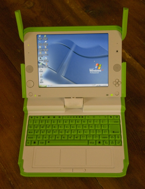 OLPC XO laptop to officially run Windows XP