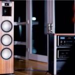Klipsch goes eco-wood with new floor speakers