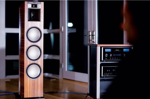 klipsch goes eco wood with new floor speakers. Black Bedroom Furniture Sets. Home Design Ideas
