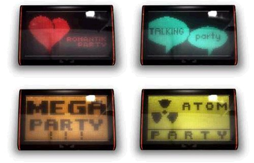 Party Monitors tell you how rockin your party is