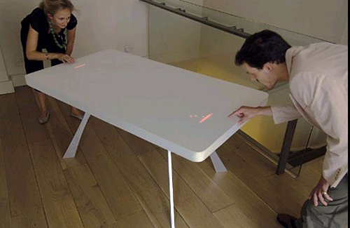 2,400 LED Pong table for gaming & dining