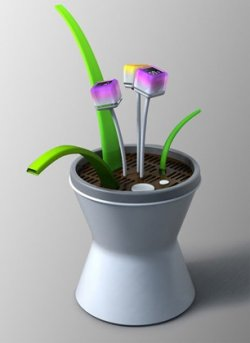Artificial plant concept lets you practice