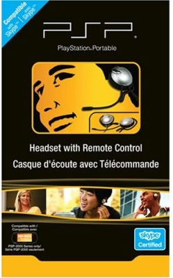 Skype headset for the Sony PSP