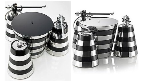 Lusso art-deco turntable costs a fortune