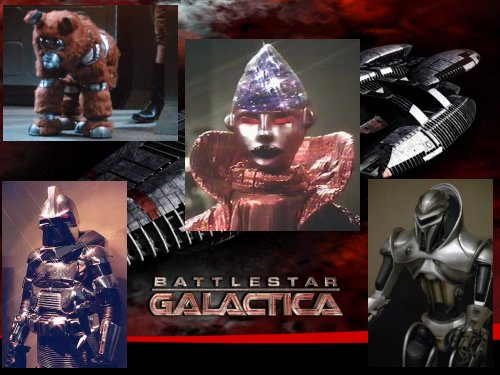 Robots of Battlestar Galactica
