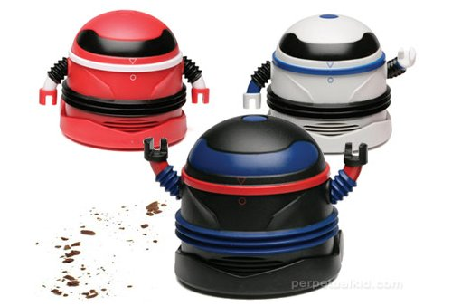 Robo Vacuum: Your crumbs will be assimilated