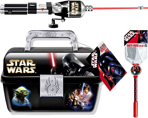 Star Wars fishing gear: For when the force won't work