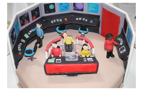 Star Trek: The next generation of cake