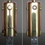 Steampunk usb memory is flashy