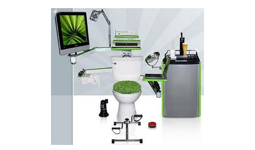 Souped Up John: The ultimate geek throne