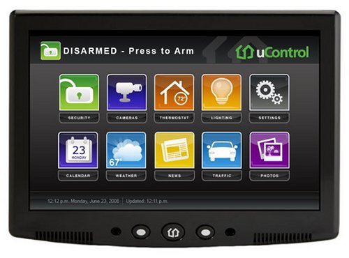 Ucontrol Security System With Media Streaming