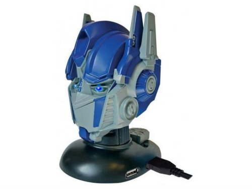 Talking Optimus Prime USB hub