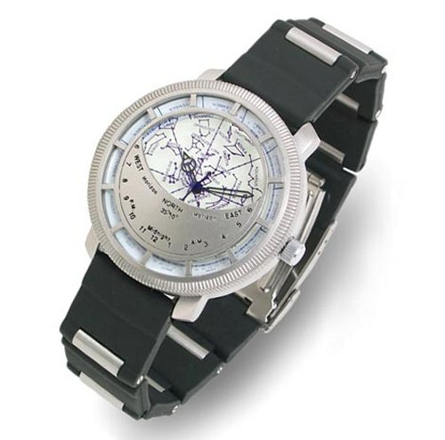 Watch the sky with the Planisphere watch