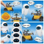 Wall-E and Eve interactive toys