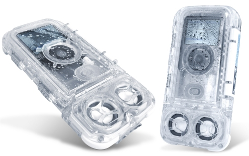 Icebar V2 Waterproof iPod Nano dock and speakers