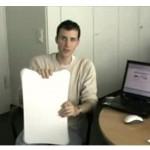 Wii balance board surfs Google Earth