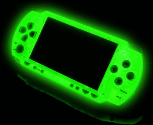 Make your PSP glow like a nuclear accident
