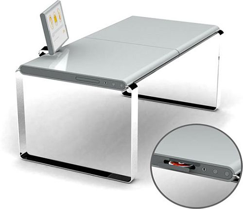 XYZ Computer Desk: True desktop PC