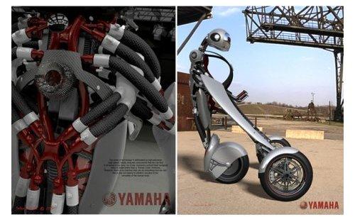 Yamaha Deus Ex Machina concept bike