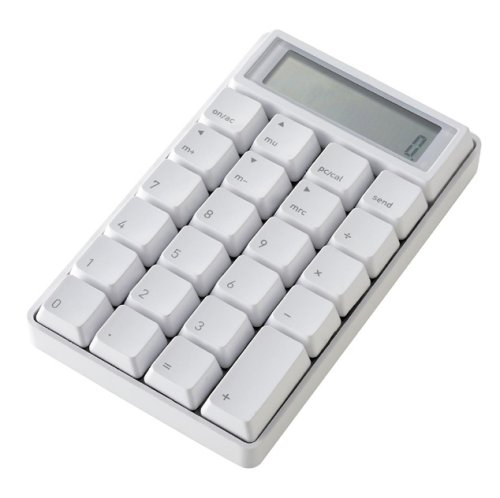 Keyboard calculator is expensive, loud