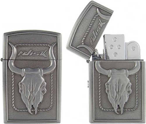 4GB USB flash drive & lighter
