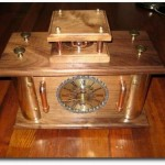 Dad gives son Steampunk Clock as wedding gift