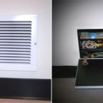 Hide your valuables in an air vent safe