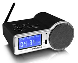 Aluratek Internet Radio Clock