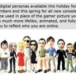 "Xbox 360′s ""avatars"" aka Microsoft Miis"