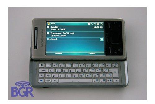 Sony Ericsson X1 Phone on Video