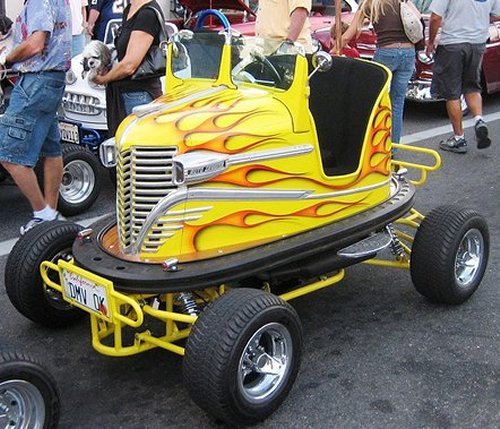 Street legal Bumper Cars look awesome