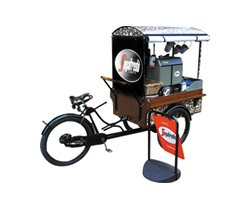 Bikecaffe: Coffee vending bikes