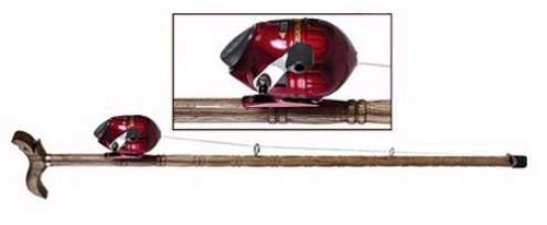 Walking stick & Fishing pole in one