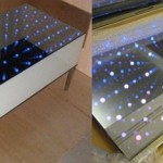 Illuminating Table is like an open wormhole in your home