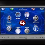 New Control4 in-wall touchpad gives you home control