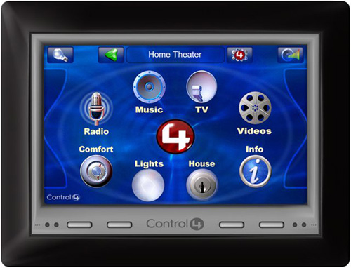 Control4 7-inch POE Wall Mount Touch Screen