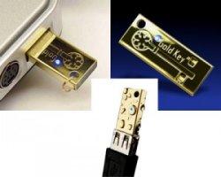 Bling Paranoia: GoldKey USB securty token