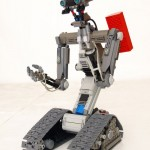 Lego Johnny Five seems very alive
