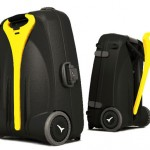 World's first power assisted luggage for those who travel heavy