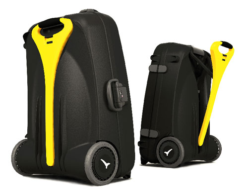 Live Luggage Power Assisted Bag