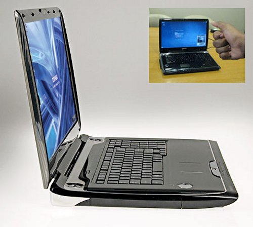 Toshiba Qosmio G55 has visual gesture controls