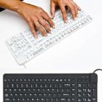 ReallyCool Keyboard is quiet, waterproof