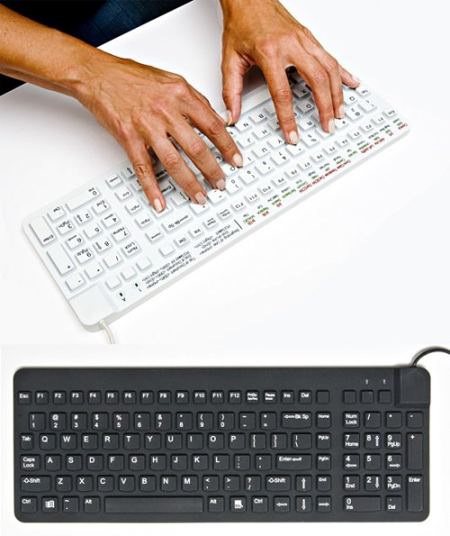 ReallyCool Keyboard is quiet, waterproof