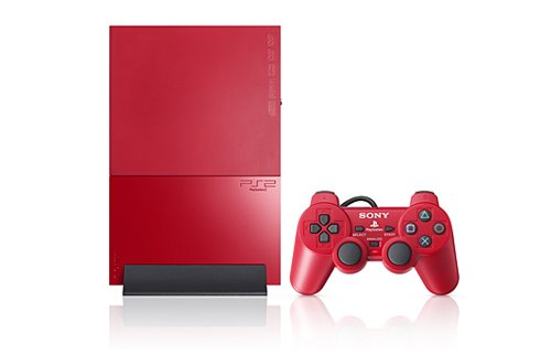 Japan gets red Playstation 2 console
