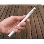 World's smallest fishing rod & reel pen