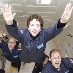 Google co-founder books space flight